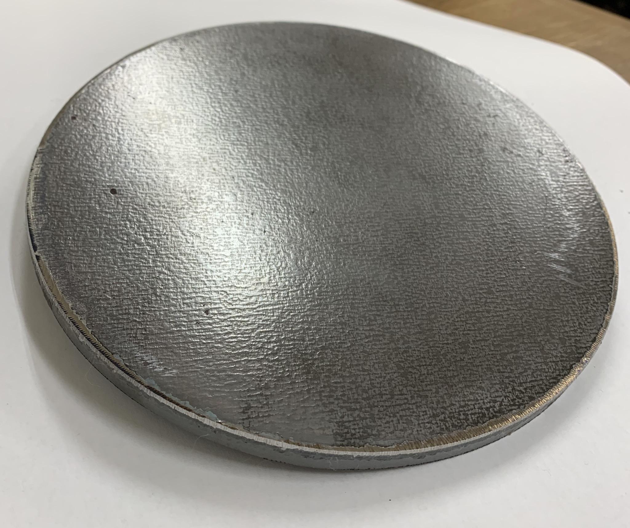鉄板 直径24cm 厚み9mm SS400 鋼材 切板