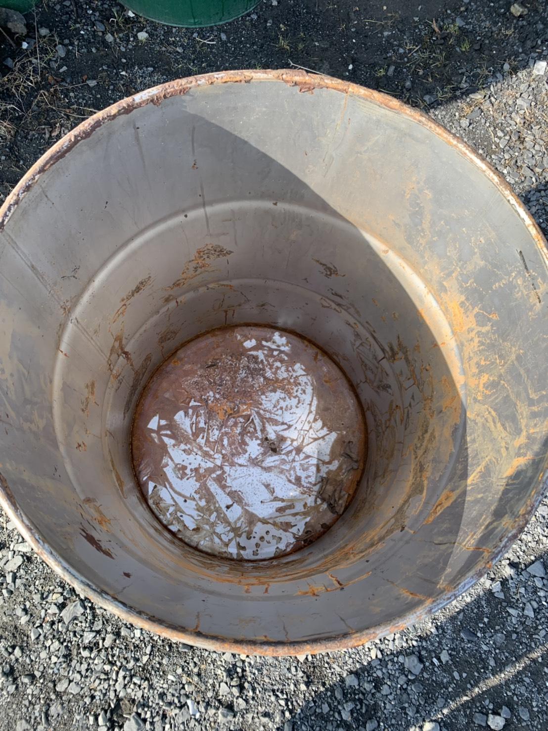 ドラム缶・蓋付