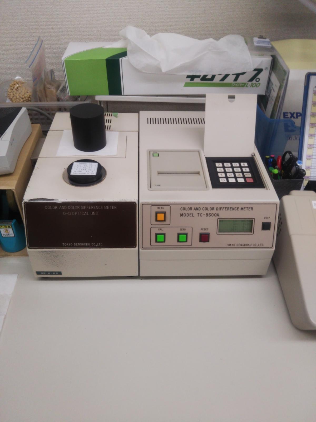測色色差計 東京電色 TC-8600A