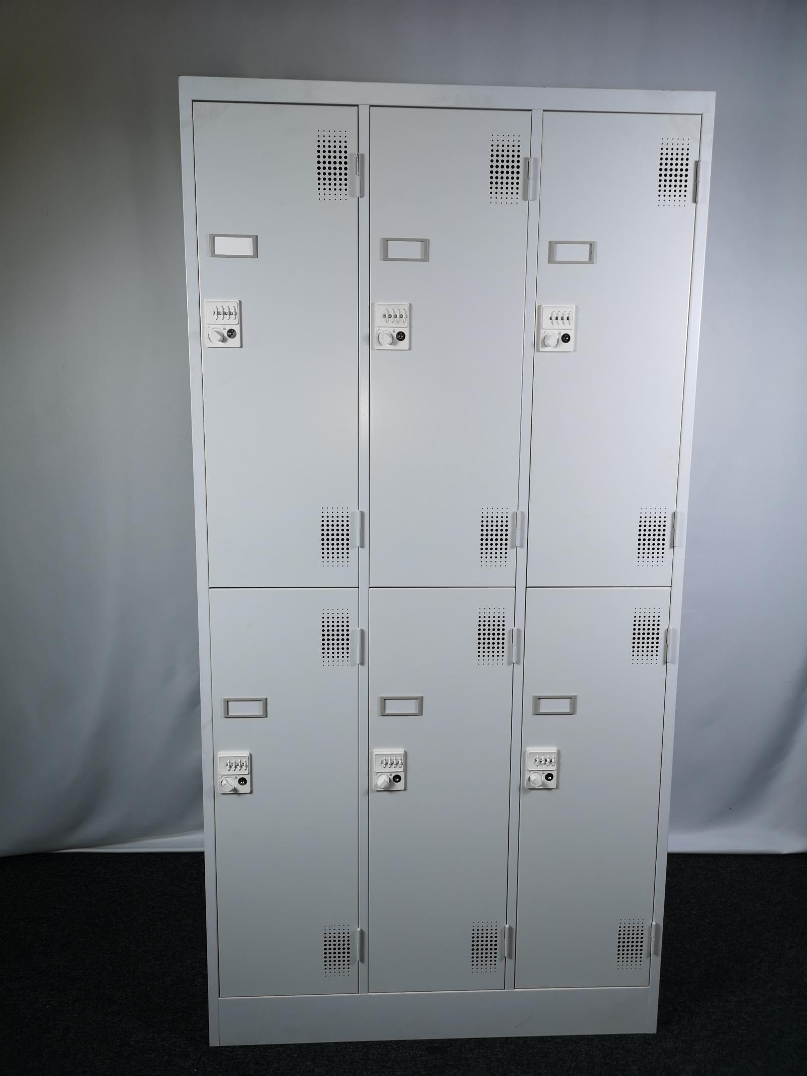 ダイヤル式鍵付ロッカー