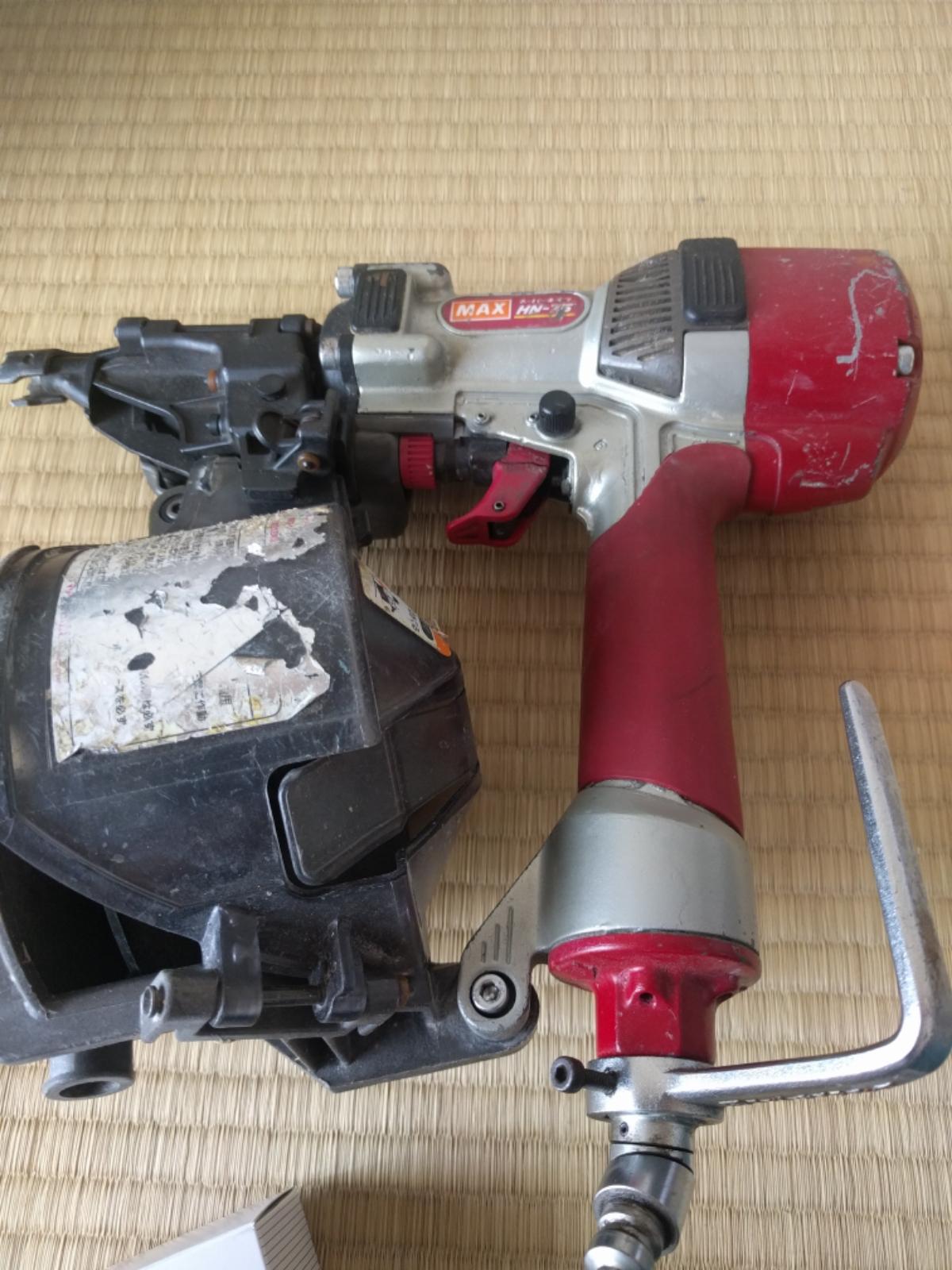 MAX 高圧ネイラー HN75